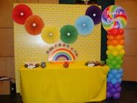 Rainbow theme Candy Counter