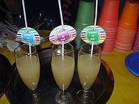 Rainbow theme Straw toppers