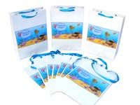 Underwater theme Stickered gift bags