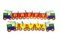 Name Bunting - Train theme