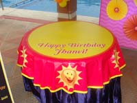 My Sunshine theme Table covers