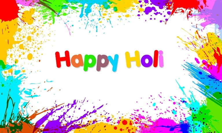 Happy holi free personalised greetings m4hsunfo