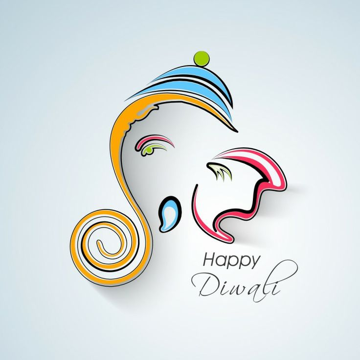 Ganesha diwali wishes free personalised greetings m4hsunfo