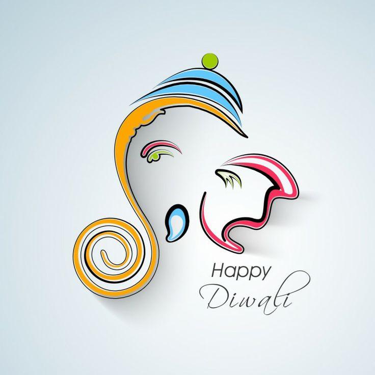 Ganesha diwali wishes free personalised greetings m4hsunfo