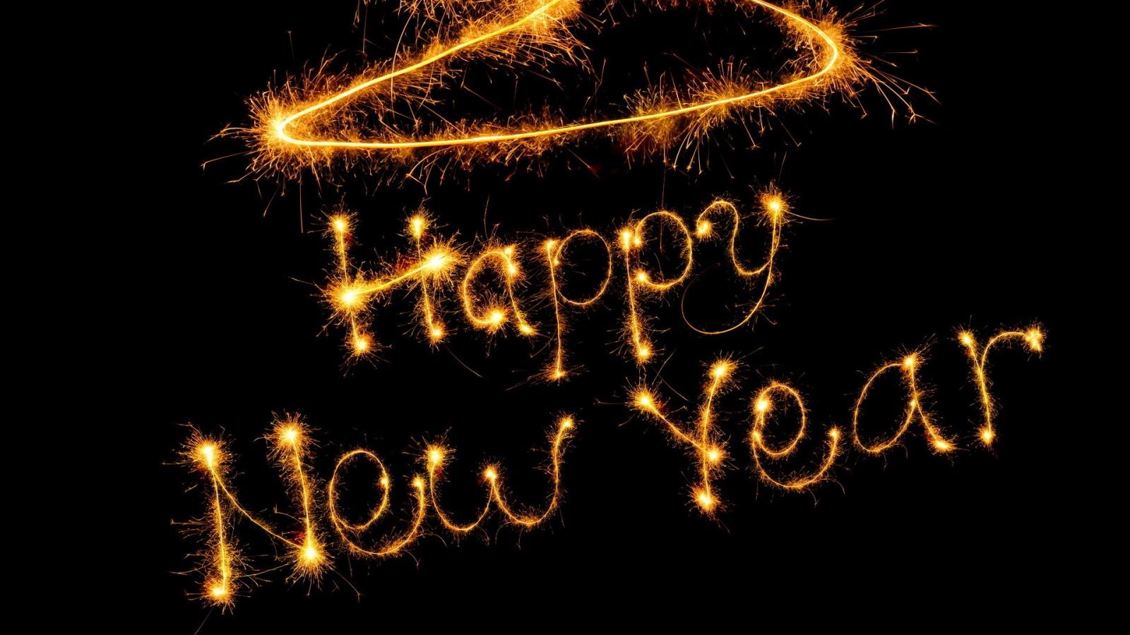 Happy New Year Free Personalised Greetings