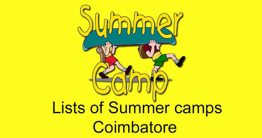List of Summer Camps in Coimbatore 2018