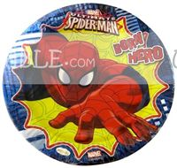 Amazing Spider Man Birthday Party Plate - Superhero