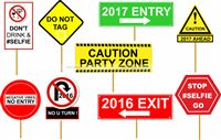 New Year 2017 Photo Props - Party Supplies