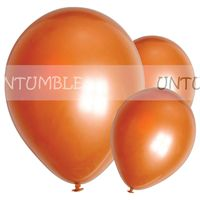 Orange Metallic balloon (Pack of 10)