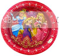 Princess Birthday Party Plate - Princess