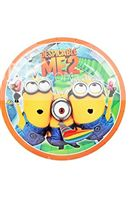 Minion 2 Birthday Party Plates - Minion