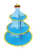 Cup Cake Stand - Blue - Party Supplies