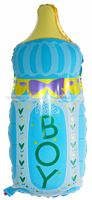 Yellow Baby Shower theme Its a Boy Feeding Bottle Foil Balloon