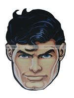 Superman Face Mask - Superhero