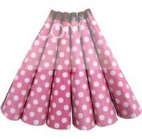 Polka Dot Pink Party Horns Blowers (PACK OF 6)