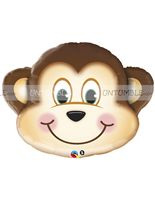 Jungle theme Monkey Foil Balloon