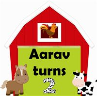 Welcome Poster/cutout - Baby Barnyard