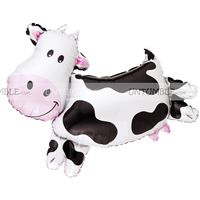 Cow Foil Balloon - Barnyard