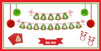 Christmas theme Christmas Party Pack (17 pc set)