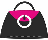 Fashionista theme Bag Cutout