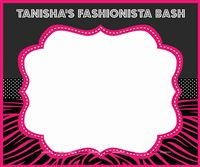 Fashionista theme Fashionista theme photo booth