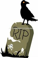 Halloween theme RIP cutout