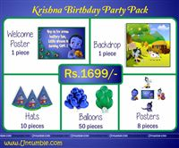 Little Krishna theme Little Krishna Theme Mini Party Pack