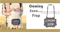 Coming Soon Hanging Board - Maternity Props