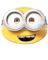 Minion theme Minion Face Mask