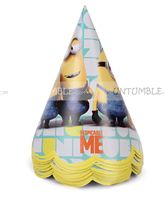Minion Party Hats (Pack of 10) - Minion