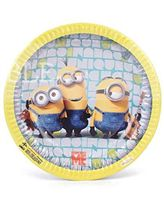 Minion theme Minion theme party plates (Pack of 10)