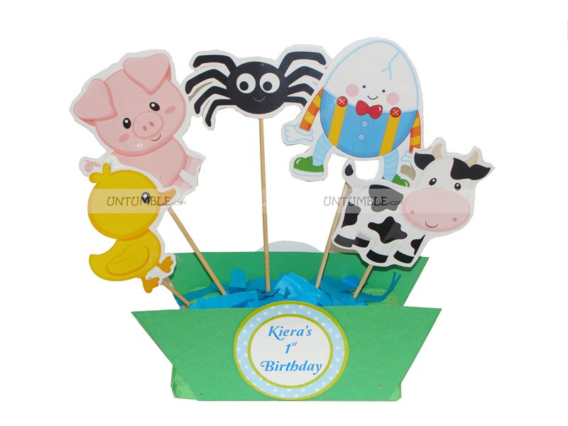 Nursery Rhymes Theme Party party kits