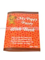 Puppy Pawty Wish Book - Puppy/Dog party
