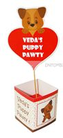 Puppy Pawty Center Pieces - Puppy/Dog party