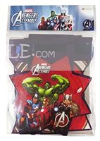 Avengers Happy Birthday Buntings - Superhero