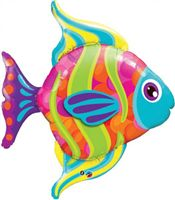 Underwater theme Fish Shaped Foil Balloon (42  inch)