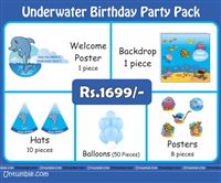 Underwater theme Under Water Theme Mini Party Pack
