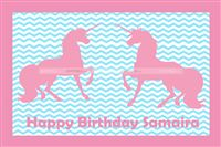 Unicorn theme Pink Placemats