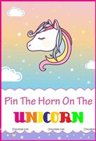 Unicorn Theme Game Poster