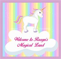 Unicorn theme Welcome Message Board