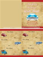 Vintage Car Party Supplies theme Vintage car wish book