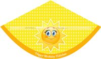 My Sunshine theme You are My Sunshine Hats