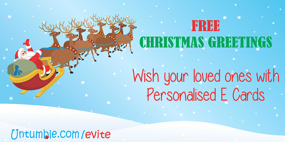 free christmas greetings personalised with your nameimage